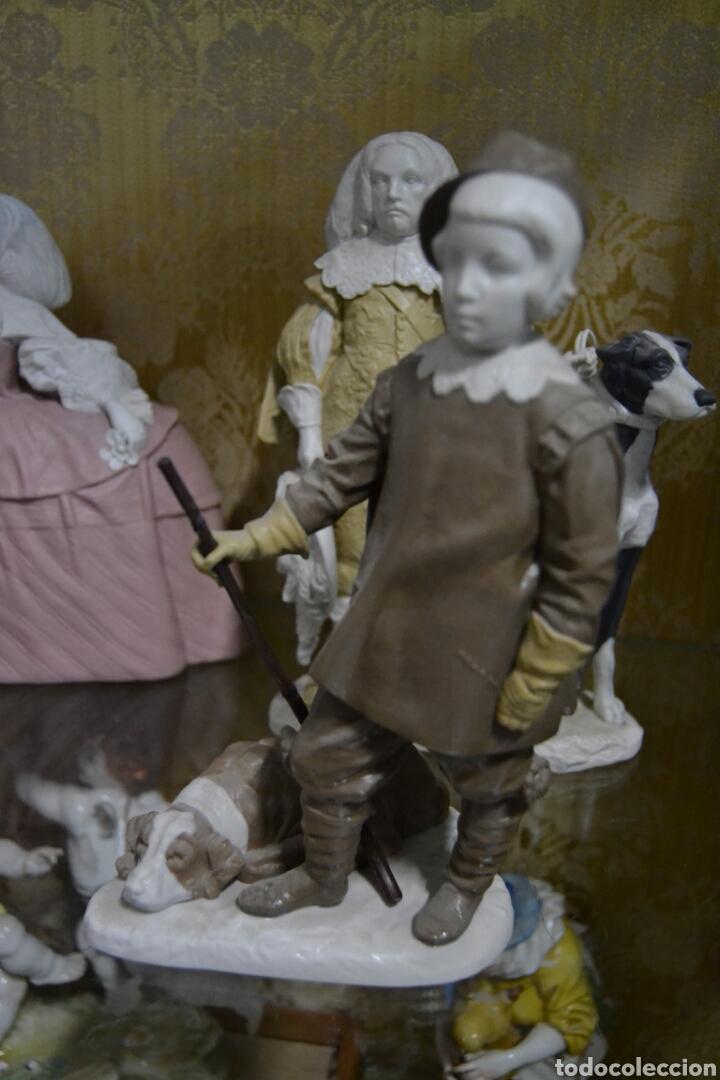INFANTE BALTASAR CARLOS EN PORCELANA ALGORA (Antigüedades - Porcelanas y Cerámicas - Algora)