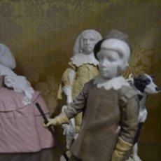Antigüedades: INFANTE BALTASAR CARLOS EN PORCELANA ALGORA. Lote 109559099