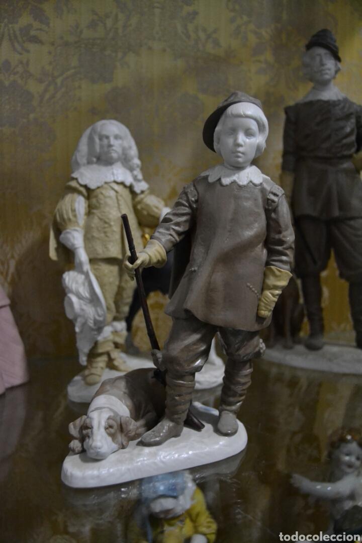 Antigüedades: infante Baltasar Carlos en porcelana algora - Foto 2 - 109559099