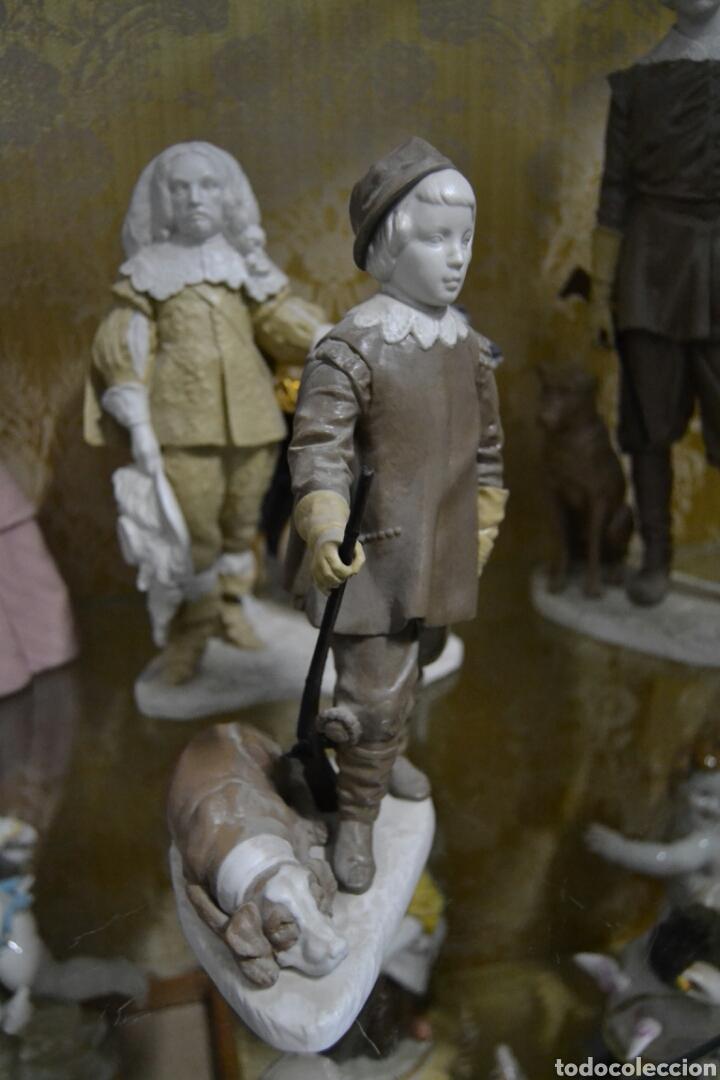 Antigüedades: infante Baltasar Carlos en porcelana algora - Foto 3 - 109559099
