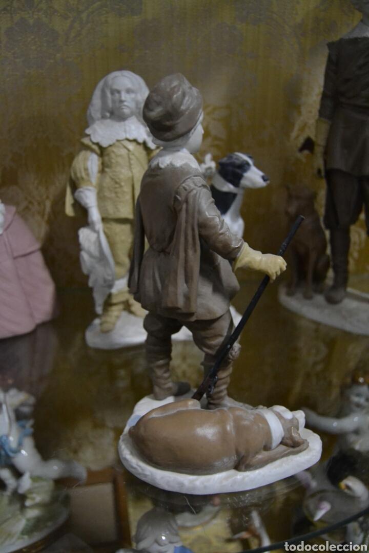 Antigüedades: infante Baltasar Carlos en porcelana algora - Foto 4 - 109559099