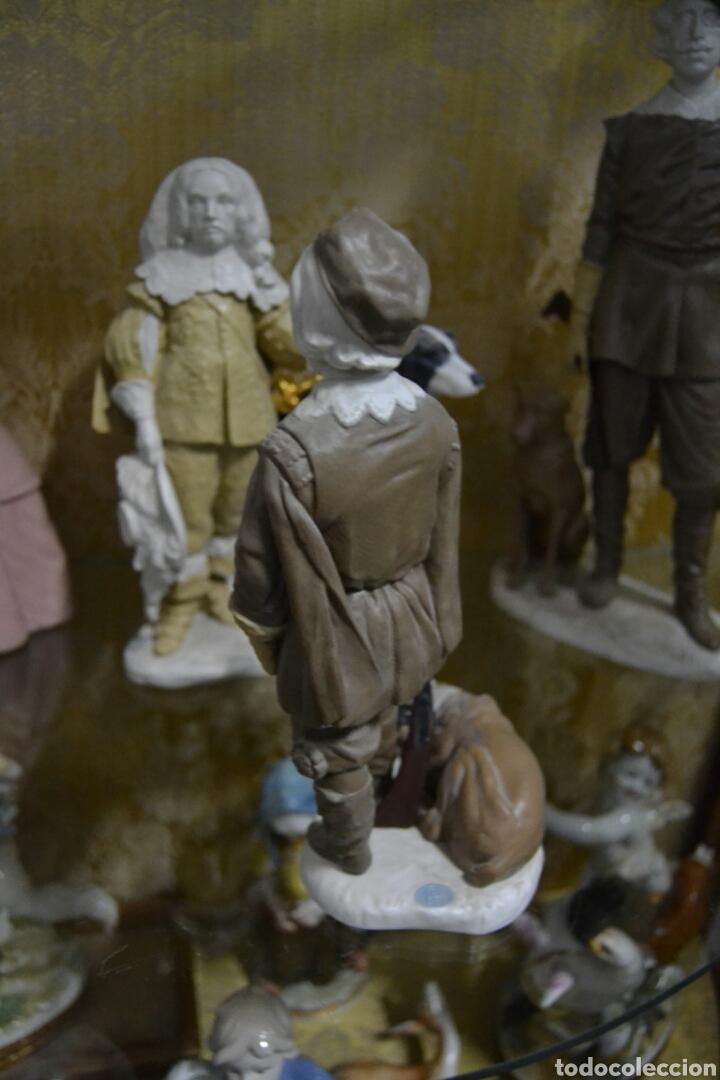 Antigüedades: infante Baltasar Carlos en porcelana algora - Foto 5 - 109559099