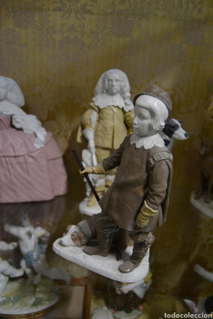 Antigüedades: infante Baltasar Carlos en porcelana algora - Foto 6 - 109559099