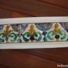Antigüedades: AZULEJOS DE TRIANA SIGLO XVI. Lote 71757975