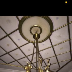 Antigüedades: ANTIGUA LAMPARA. Lote 71762559