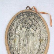 Antigüedades: ANTIGUO RELIEVE RELIGIOSO - SANTUARIO NACIONAL SAGRADO CORAZÓN DE JESÚS. VALLADOLID, AÑO 1941. Lote 71781359