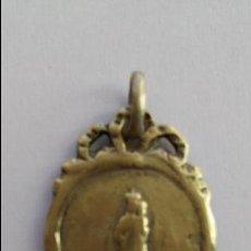 Antigüedades: MEDALLA DE LA VIRGEN DEL PILAR ANTIGUA DE 2,4 X 1,9 CMS. Lote 71803891