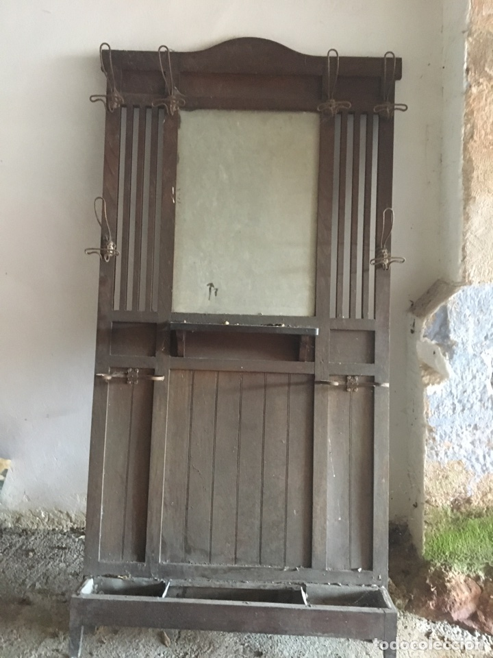 ANTIGUO PERCHERO (Antigüedades - Muebles Antiguos - Auxiliares Antiguos)