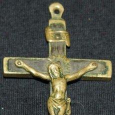 Antigüedades: CRUZ DE BRONCE ANTIGUA. Lote 71815139