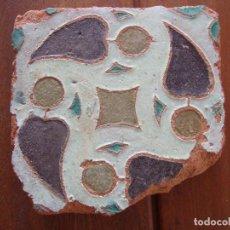 Antigüedades: AZULEJO SIGLO XV MUDEJAR DE TOLEDO. Lote 71827351