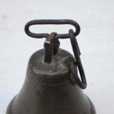 Antigüedades: CAMPANILLA ANTIGUA EN BRONCE, DE CONVENTO.. Lote 71852427