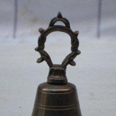 Antigüedades: CAMPANILLA EN BRONCE.. Lote 71854215