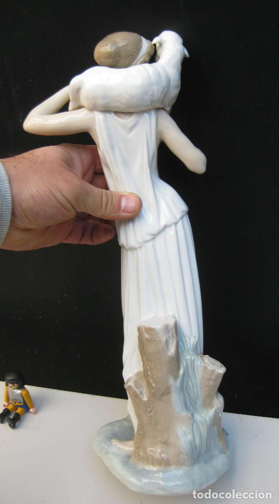 Antigüedades: JOYA! PASTORA GRIEGA DE FULGENCIO GARCIA 1963 FIGURA PORCELANA ZAPHIR LLADRO ORIGINAL PRIMERA EPOCA - Foto 8 - 71855803