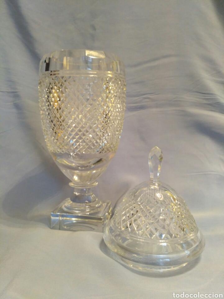 Antigüedades: Copa de cristal tallado del siglo XX - Foto 2 - 71898757