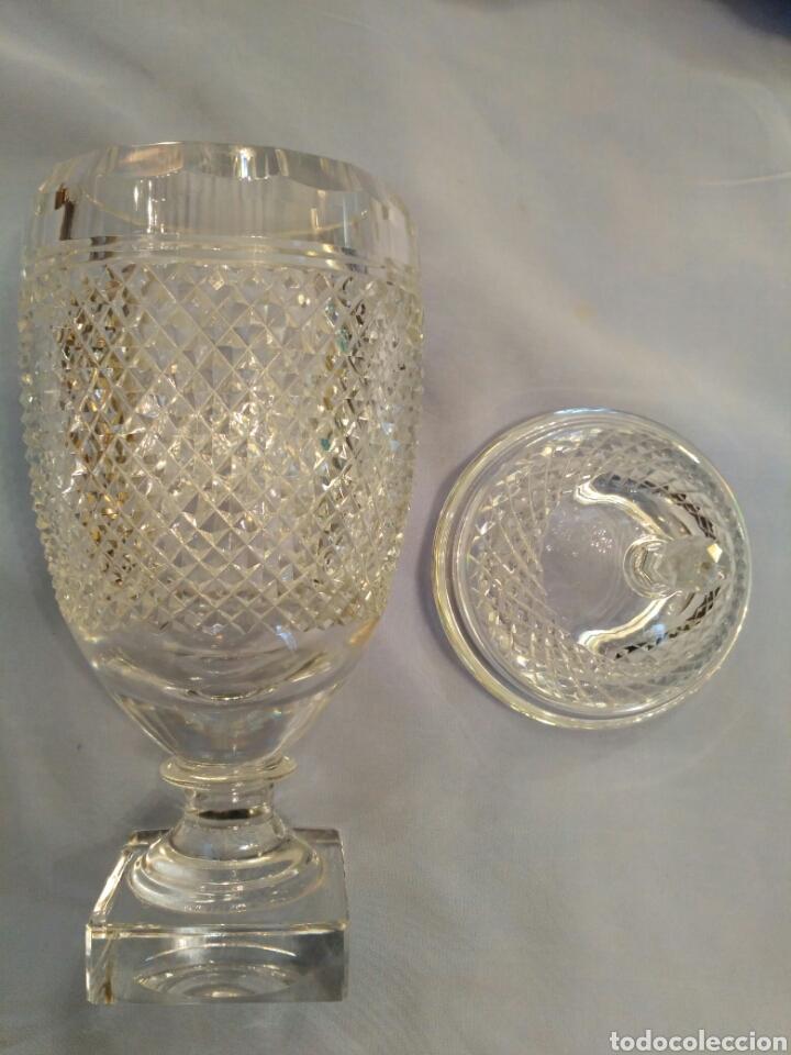 Antigüedades: Copa de cristal tallado del siglo XX - Foto 3 - 71898757
