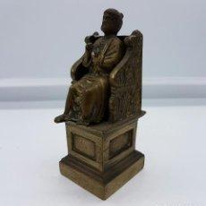 Antiquitäten - Escultura antigua de bronce San Pedro Apóstol de la Basílica de San Pedro del Vaticano . - 71906923