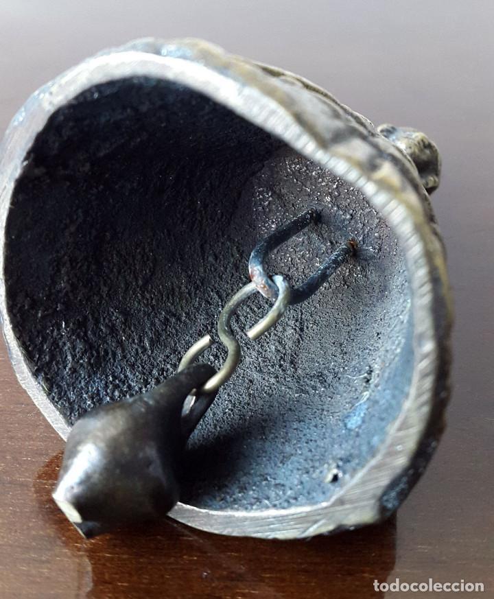 Antigüedades: CAMPANILLA ANTIGUA DAMA EN BRONCE - Foto 5 - 71951043