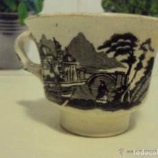 Antigüedades: TAZA MUY ANTIGUA , CAFÉ LECHE. Lote 71973603