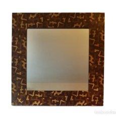 Antigüedades: ESPECTACULAR ESPEJO DE ROCHE BOBOIS, 110 X 110.. Lote 57664899