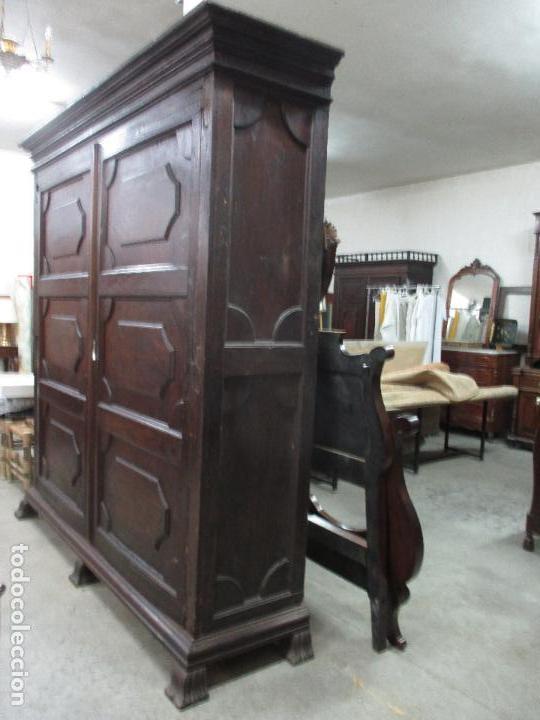 Antigüedades: Espectacular Armario de Sala Antiguo - Catalán - Barroco - Siglo XVII - Foto 5 - 72039367