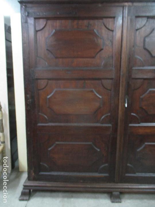 Antigüedades: Espectacular Armario de Sala Antiguo - Catalán - Barroco - Siglo XVII - Foto 6 - 72039367