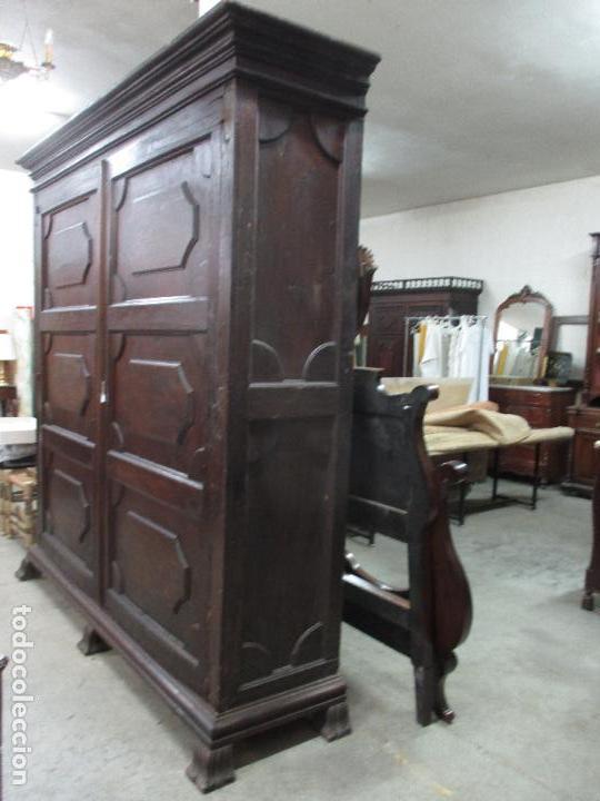 Antigüedades: Espectacular Armario de Sala Antiguo - Catalán - Barroco - Siglo XVII - Foto 7 - 72039367
