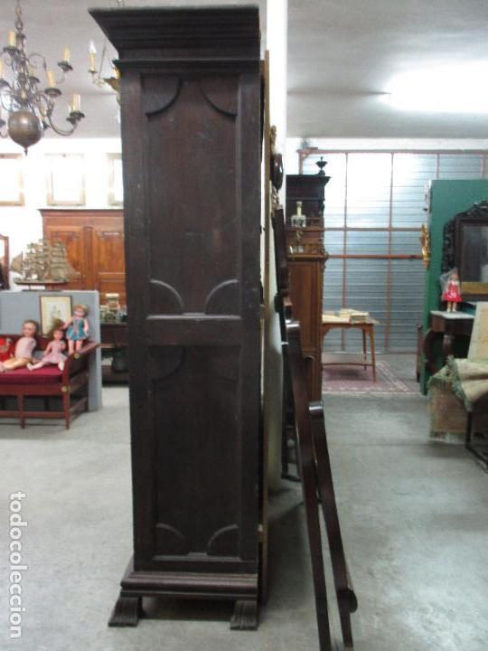 Antigüedades: Espectacular Armario de Sala Antiguo - Catalán - Barroco - Siglo XVII - Foto 8 - 72039367