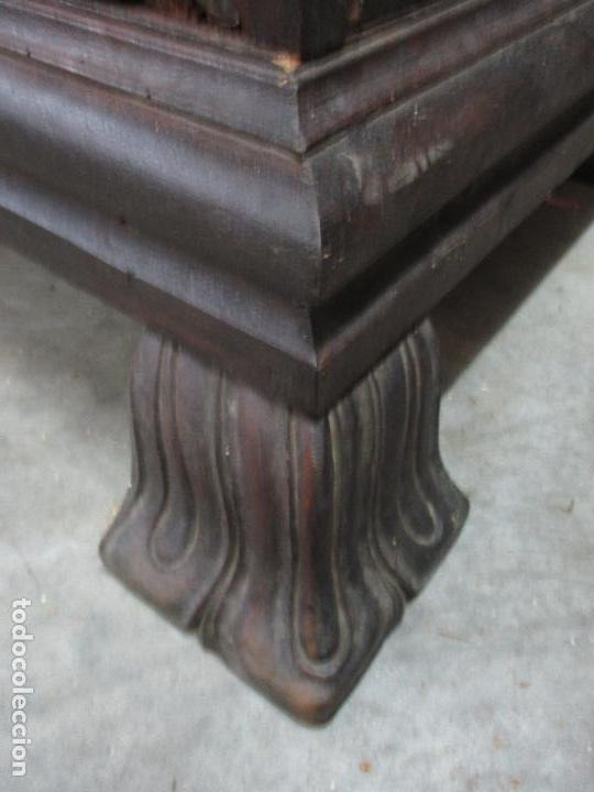 Antigüedades: Espectacular Armario de Sala Antiguo - Catalán - Barroco - Siglo XVII - Foto 9 - 72039367