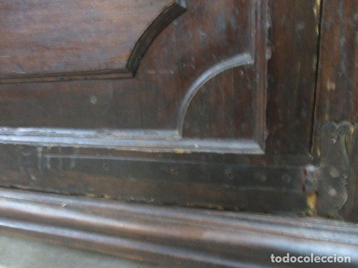 Antigüedades: Espectacular Armario de Sala Antiguo - Catalán - Barroco - Siglo XVII - Foto 11 - 72039367