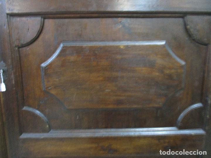 Antigüedades: Espectacular Armario de Sala Antiguo - Catalán - Barroco - Siglo XVII - Foto 13 - 72039367