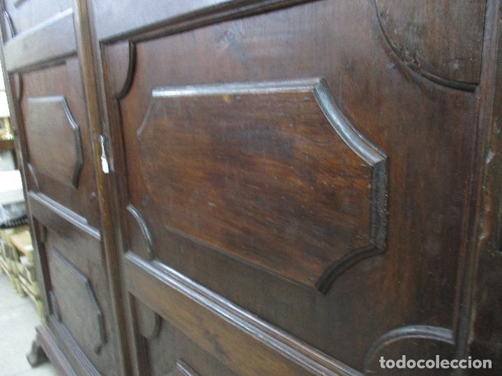 Antigüedades: Espectacular Armario de Sala Antiguo - Catalán - Barroco - Siglo XVII - Foto 14 - 72039367