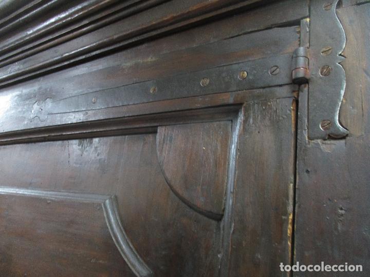 Antigüedades: Espectacular Armario de Sala Antiguo - Catalán - Barroco - Siglo XVII - Foto 16 - 72039367