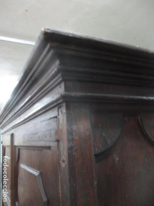 Antigüedades: Espectacular Armario de Sala Antiguo - Catalán - Barroco - Siglo XVII - Foto 17 - 72039367