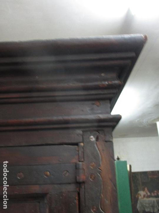 Antigüedades: Espectacular Armario de Sala Antiguo - Catalán - Barroco - Siglo XVII - Foto 18 - 72039367