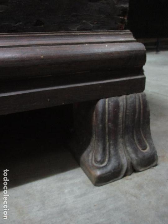 Antigüedades: Espectacular Armario de Sala Antiguo - Catalán - Barroco - Siglo XVII - Foto 25 - 72039367
