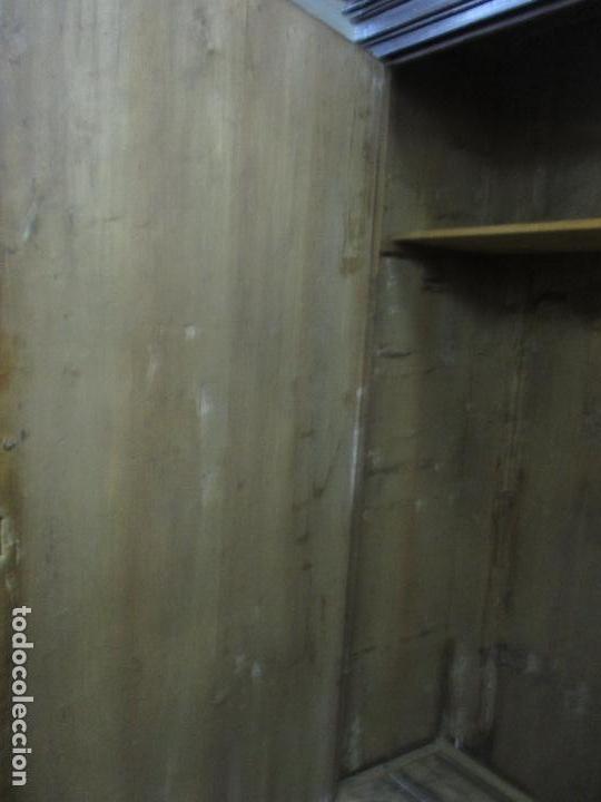 Antigüedades: Espectacular Armario de Sala Antiguo - Catalán - Barroco - Siglo XVII - Foto 36 - 72039367