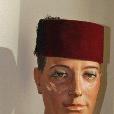 Antigüedades: FEZ O TARBUSH - MARRUECOS - AÑOS 40. Lote 72041851