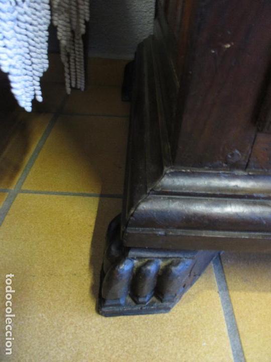 Antigüedades: Antiguo Armario - Barroco Catalán - Madera de Nogal - Marquetería Madera de Boj - Siglo XVIII - Foto 28 - 72043843