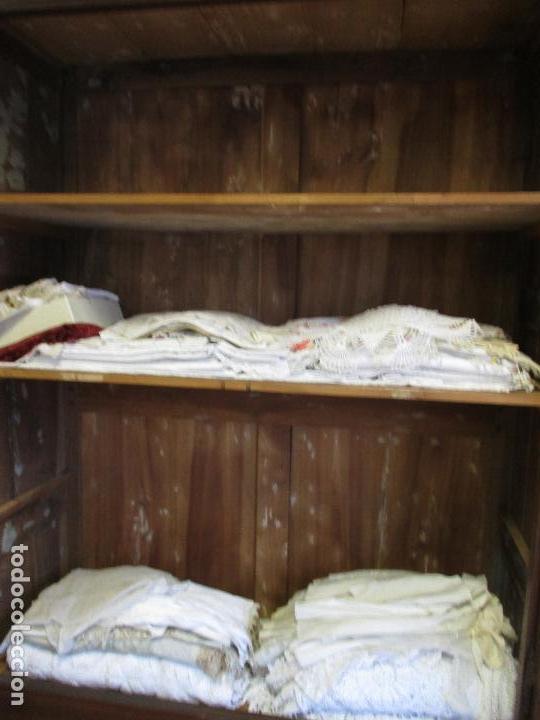 Antigüedades: Antiguo Armario - Barroco Catalán - Madera de Nogal - Marquetería Madera de Boj - Siglo XVIII - Foto 32 - 72043843