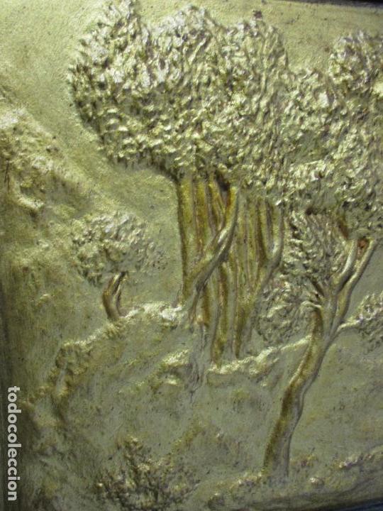 Antigüedades: Antigua Cama - Carlos IV - Madera de Caoba - Escultura en Terracota - Finales Siglo XVIII - Foto 20 - 72047155