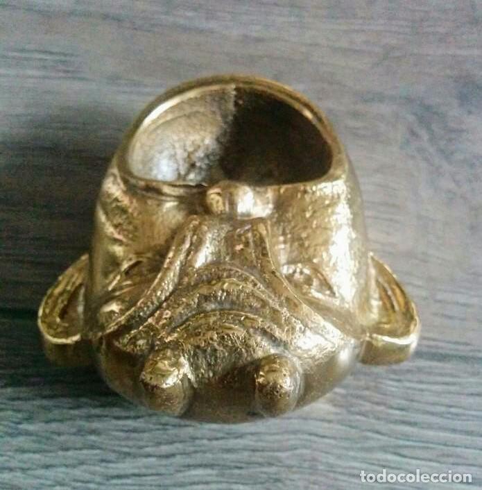 Antigüedades: ANTIGUO CENICERO BRONCE - Foto 2 - 59627607