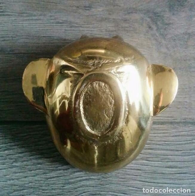 Antigüedades: ANTIGUO CENICERO BRONCE - Foto 3 - 59627607