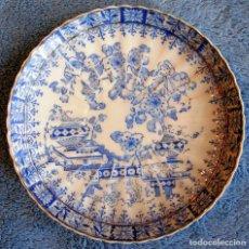 Antigüedades: PLATO PORCELANA SANTA CLARA, DE 14 CMS. DIAMETRO.. Lote 146770533
