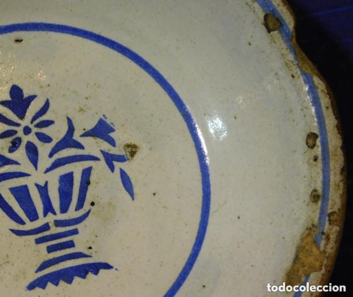 Antigüedades: PLATO HONDO CERAMICA MUY ANTIGUO - Foto 5 - 72142371