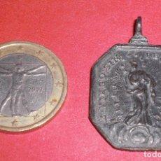 Antigüedades: ANTIGUA MEDALLA SIGLO XVII INMACULADA Y CALIZ. Lote 72165515