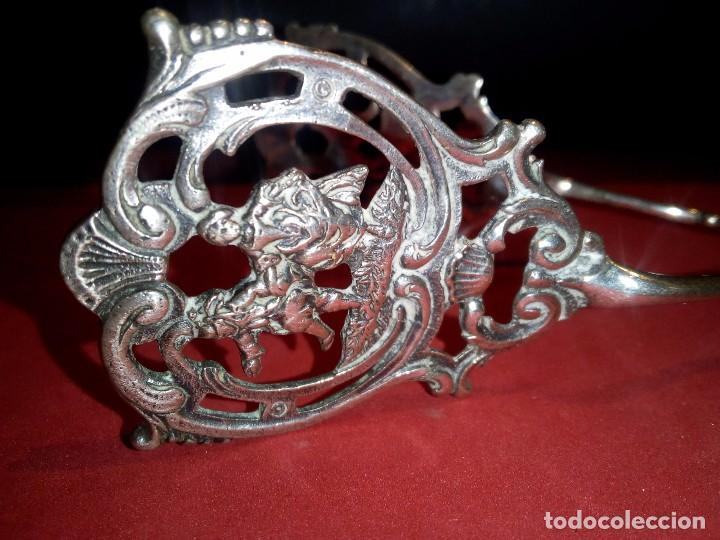 Antigüedades: Pinzas en plata de ley finales s,XIX - Foto 4 - 72167087