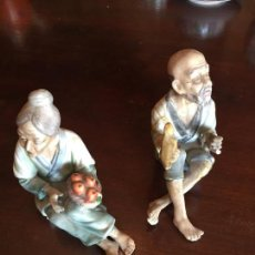 Antigüedades: FIGURAS JAPONESAS AUTÉNTICAS. Lote 72168095