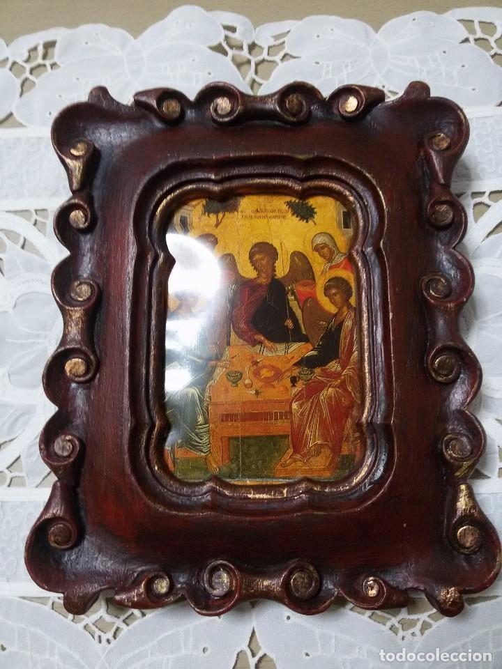 antiguo marco o portafotos de madera 20x16 cm - Comprar Marcos ...