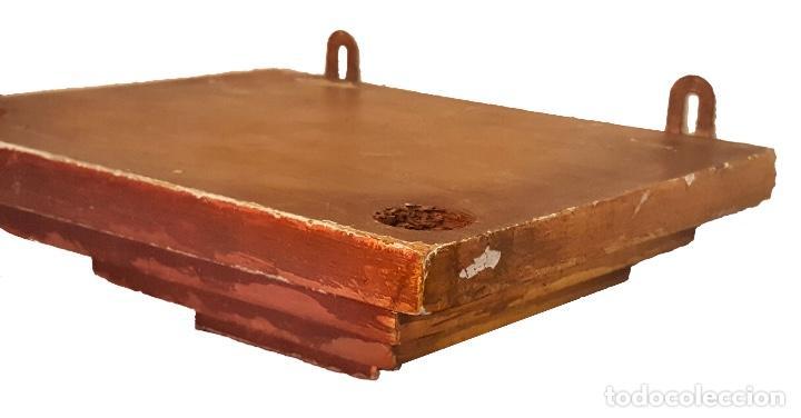 Antigüedades: Ménsula o peana en madera y dorado. - Foto 2 - 72225075