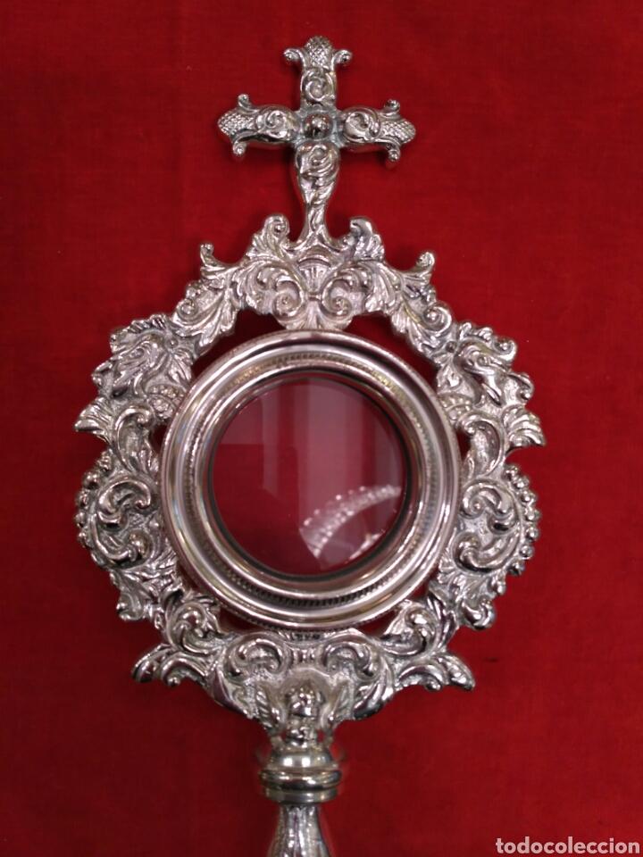 Antigüedades: Relicario con baño de plata (nuevo) - Foto 2 - 72251859
